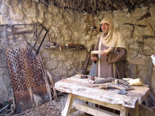 Jesus of Nazareth: Appreciate Jesus' times as they unfold before you in a reconstruction centre in Nazareth.