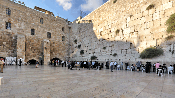 Old Testament Jerusalem: Time to consider some ancient parts of the Old City including the Western Wall, Temple Mount and Hezekiah's Tunnel.