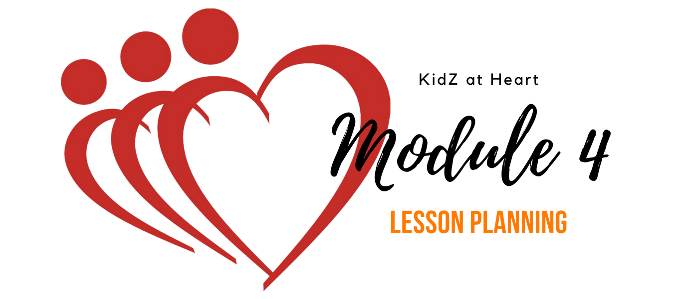 KidZ at Heart – Lesson Planning