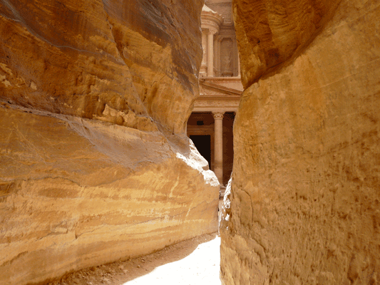 Numbers: The children of Israel wandered to the east of the Dead Sea, we'll visit Petra and experience an ancient marvel.