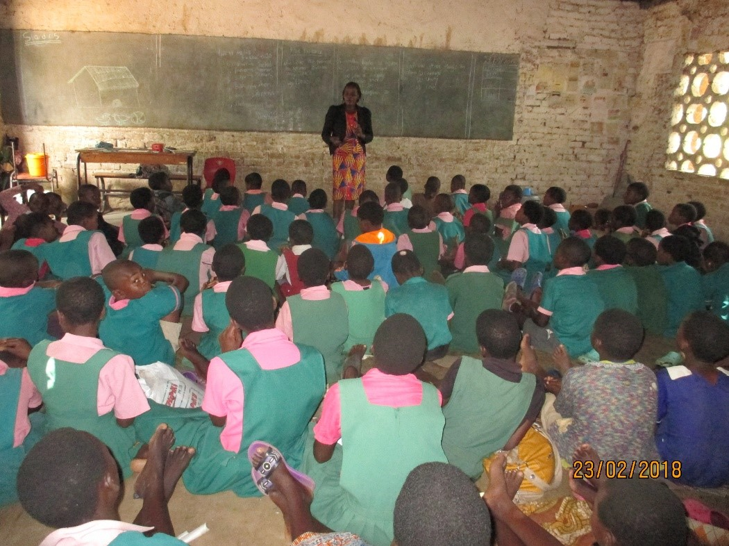otLIVE taught weekly to 7000 children across 40 schools in Malawi
