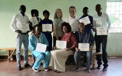 First Zambian KidZ at Heart instructors trained